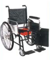 Invalid Wheel Chair Folding With Commode